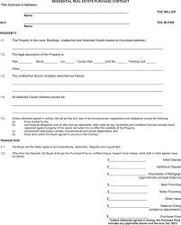 download alberta residential real estate purchase contract form