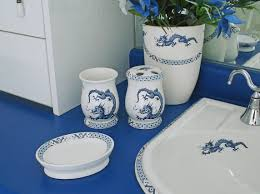 Ceramic Bathroom Accessories by Hand Painted Porcelain Bathroom Accessories Decorated Bathroom Blog