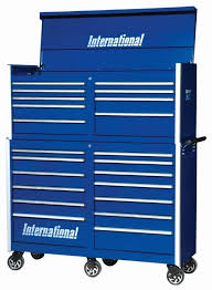 professional tool chests and cabinets international tool box combo prt 5409bu prb 5413bu