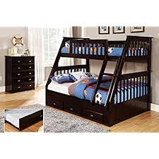 Bunk Bed With Mattress with Amazon Com Discovery World Furniture Twin Over Full Bunk Bed With