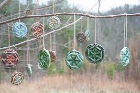 ceramic mandala ornaments weaver handmade