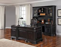 lexington executive desk set in black by samuel lawrence home