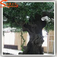 realistic artificial tree bark large artificial decorative tree