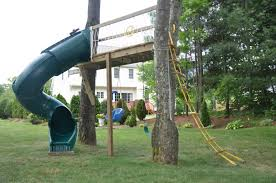 diy swing set instead of trees we could use transmission poles