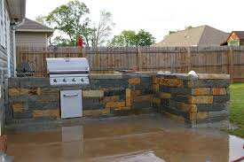 Outdoor Kitchen Plans Kitchen Dazzling Summer Kitchen Grills And Rustic Solid Wood