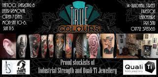 true colours tattoo studio preston laser tattoo removal
