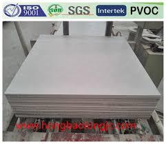 Vinyl Faced Ceiling Tile by China Vinyl Faced Gypsum Ceiling Tiles 600x600x7mm Photos