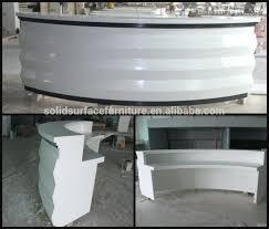 Led Reception Desk Desk Contemporary Design 57 Custom Made Executive Office Desk