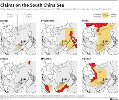 China Sea Map by The U S And China U0027s Nine Dash Line Ending The Ambiguity