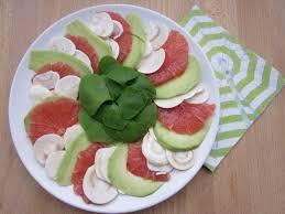 cuisiner les avocats carpaccio de chignons plemousse avocat et pourpier salades