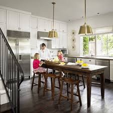 kitchen island with table combination island table combination houzz