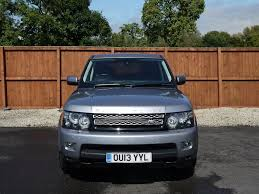 luxury black range rover used land rover range rover sport suv in chorley lancashire