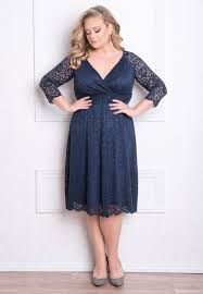 classy and elegant designer plus size francesca lace dress