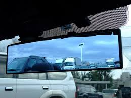 No Blind Spot Rear View Mirror Reviews 300mm Wide Flat Or Curve Interior Clip On Rear View Mirror