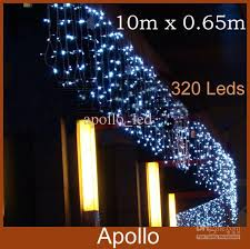 cheap 10m 0 65m led curtain lights string 320 leds