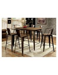 cooper ii import furniture of america counter height dining set