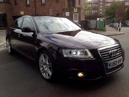 2010 audi a6 s line 2 0 tdi 170 bhp 6 speed manual full service