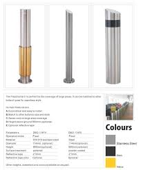 safety stainless steel fixed ornamental bollards buy ornamental