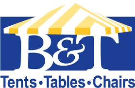 tent table and chair rentals b t tents tables and chairs llc party tent rental for northeast