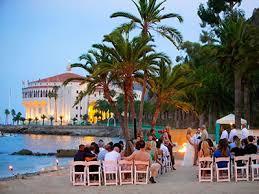 wedding venues on island descanso club santa island weddings avalon