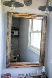 cherry wood bathroom mirror diy wood frame bathroom mirror bathroom mirrors ideas