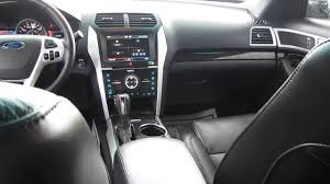 2012 Ford Exploer 2012 Ford Explorer Blue Stock 13571b Interior Youtube