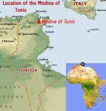 map of tunisia with cities where is tunisia location map of tunisia tunisia maps and