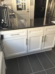new cabinet doors give an old kitchen a fresh look