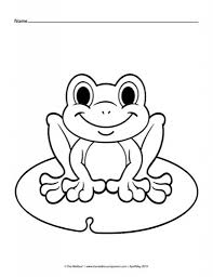 cartoon frog coloring pages aecost net aecost net