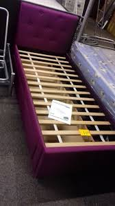 ex showroom shorty 2 6ft bed frame with large draw upholstered