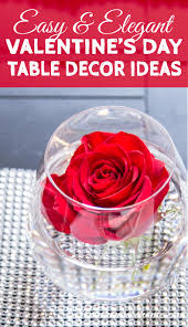 day table decorations easy and s day table decoration ideas