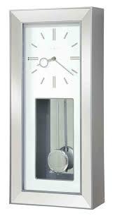 compact large contemporary wall clock 121 large modern metal wall