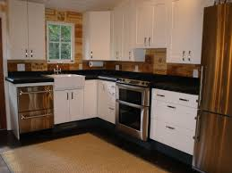 custom designed kitchen with wine crate back splash by affairs
