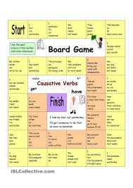 board game have something done causative verbs english