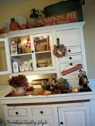 Decorating A Hutch Little Bit Of Paint Hutch Love This Blog For The Home