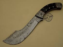new damascus chopper knife custom handmade damascus steel