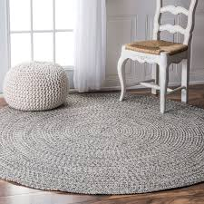 Rounds Rugs Nuloom Handmade Casual Solid Braided Rug 6