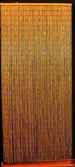 Bamboo Door Curtains Bamboo Beaded Curtain Hawaiian Tropical Decor