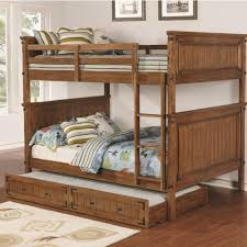 coaster coronado bunk bed casual wooden full over full bunk bed
