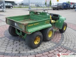 used john deere gator 3550 diesel 6x4 utv utility vehicle utility