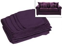 plaid pour canapé 2 places housses de canapé 2 places en tissu clara 4 coloris