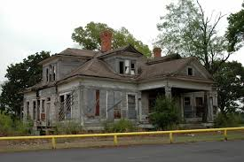 the haunted house behind the dairy queen in fairfield texas the