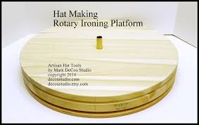 making a rotary table hat making how to make video rotary work ironing center table custom