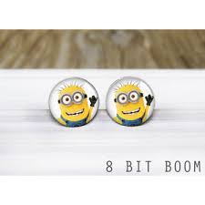 minion earrings despicable me polyvore