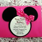 Minnie Mouse Baby Shower Invitations Templates - create free printable minnie mouse baby shower invitations