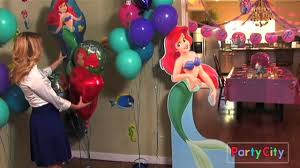 the party ideas mermaid birthday party ideas from party city