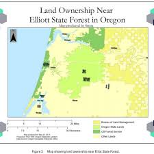Land Ownership Map Options For The Monetization Of The Elliot State Forest U2013 Strata