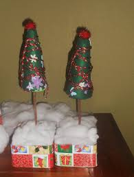 christmas art crafts for kids styrofoam and felt christmas tree