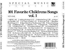 101 favorite childrens songs vol 1 a h various artists
