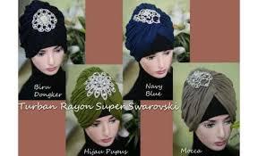 tutorial hijab turban ala april jasmine 22 topi turban rayon super swarovski 8622 640x390 0 jpg 640 390
